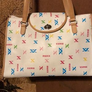 Large Max bag with small attached inside bag